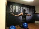 Allestimento interni palestra New Sporting Club